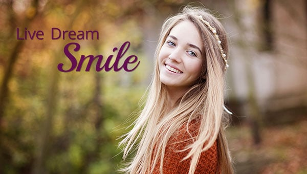 Live Dream Smile Mobile Banner Dr. Gordon C. Honig, DMD Newark Middletown DE