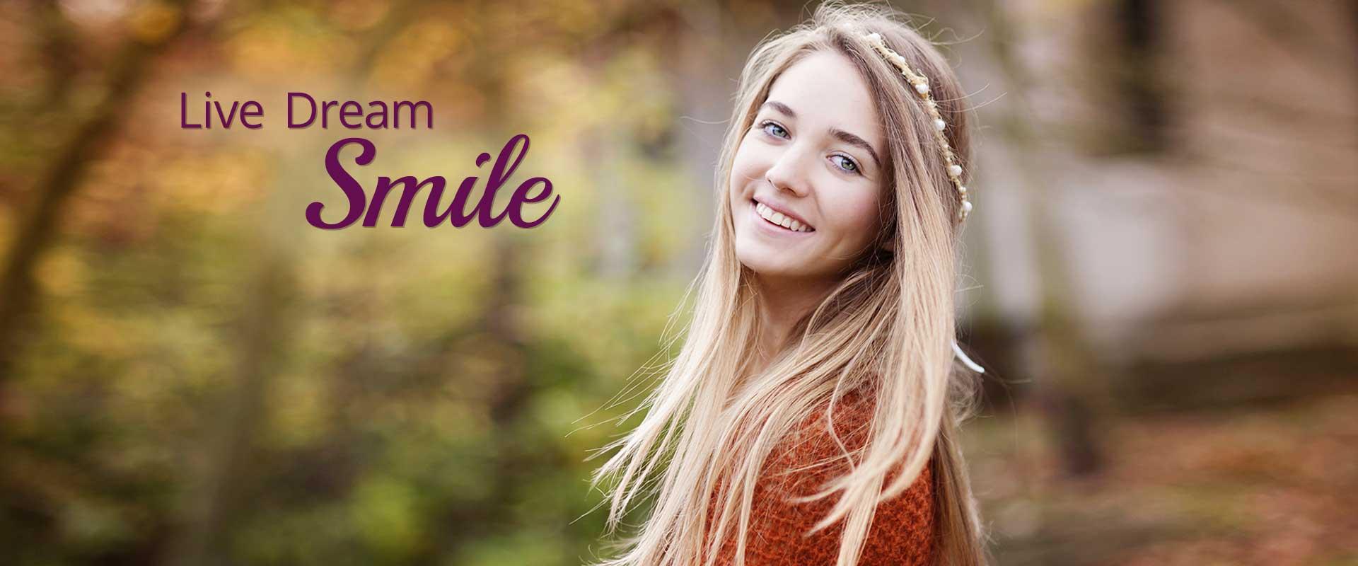 Live Dream Smile Slider 1 Dr. Gordon C. Honig, DMD Newark Middletown DE