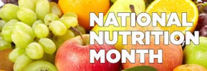 March Is National Nutrition Month Newark DE